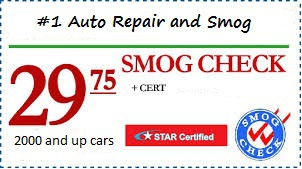 $29.75 Smog Check #1 Auto Repair and Smog Campbell, CA